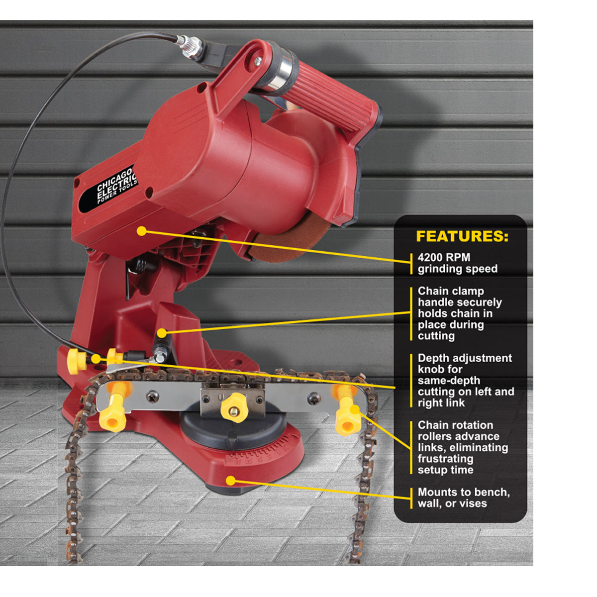 Use and Safety Tips of a Chainsaw Sharpener