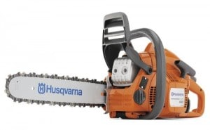 Husqvarna 440E 16-Inch 40.9cc 2-Stroke X-Torq Gas Powered Chain Saw