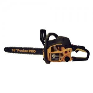 Poulan Pro 967185102 PP4218A 42cc Assembled Chainsaw with Case, 18-Inch