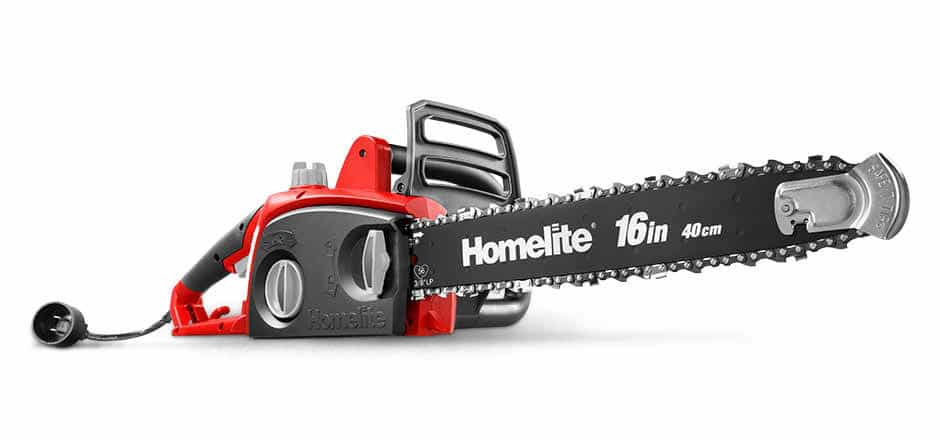 Homelite 16-Inch 12 Amp Chain Saw With Automatic Oiler