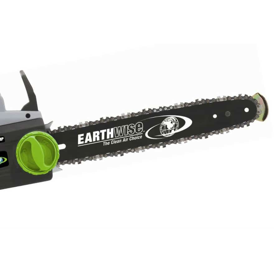 Earthwise cs30016 16 inch 12 amp electric chain saw greentooth Image collections