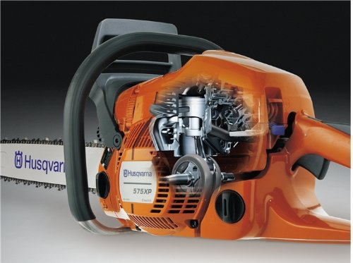 Husqvarna 2 Stroke Gas Powered Chain Saw