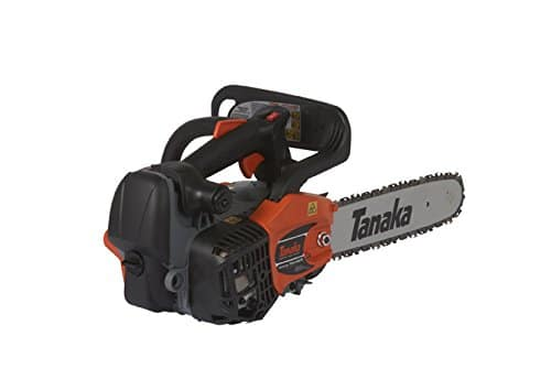 tanaka top chain saw with pure fire engine