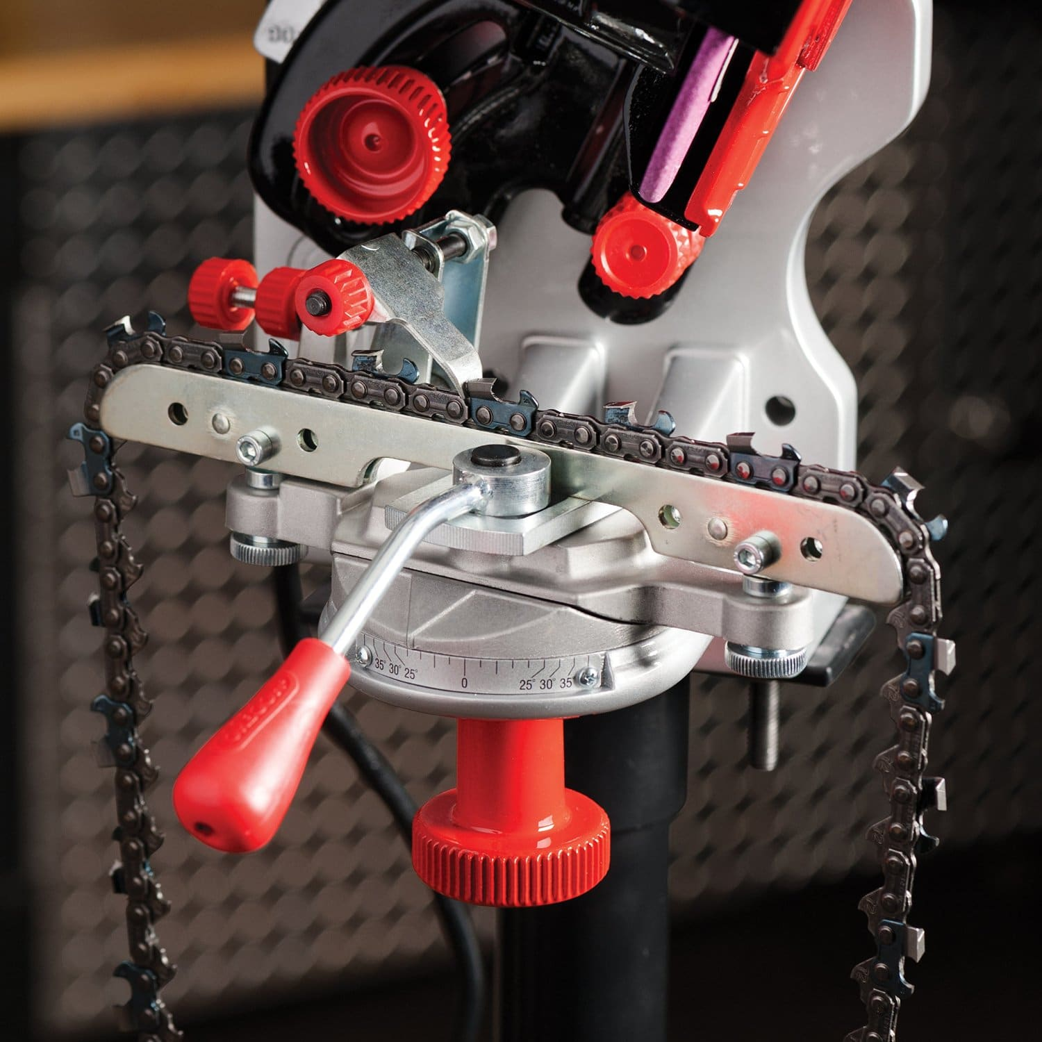 Oregon wall mounted saw chain grinder
