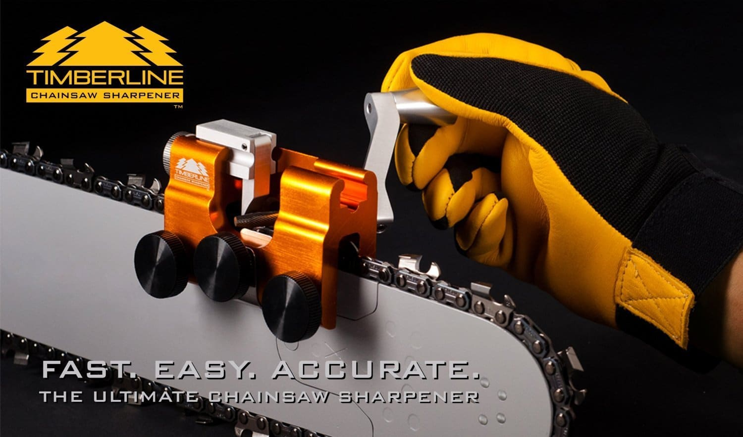 Timberline Chainsaw Sharpener with Carbide Cutter