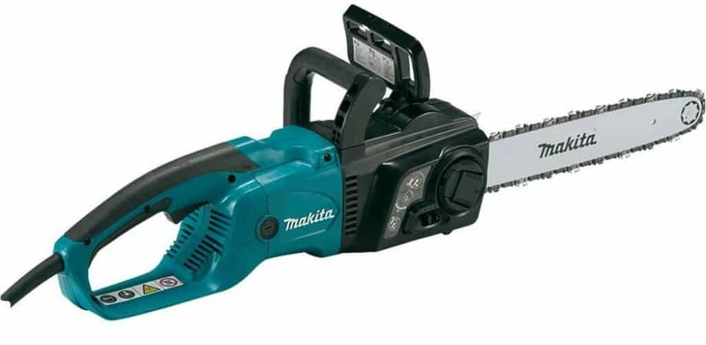 Best electric chainsaw in 2017 complete buyers guide and reviews makita uc3551a electric chain saw 14 inch greentooth Gallery