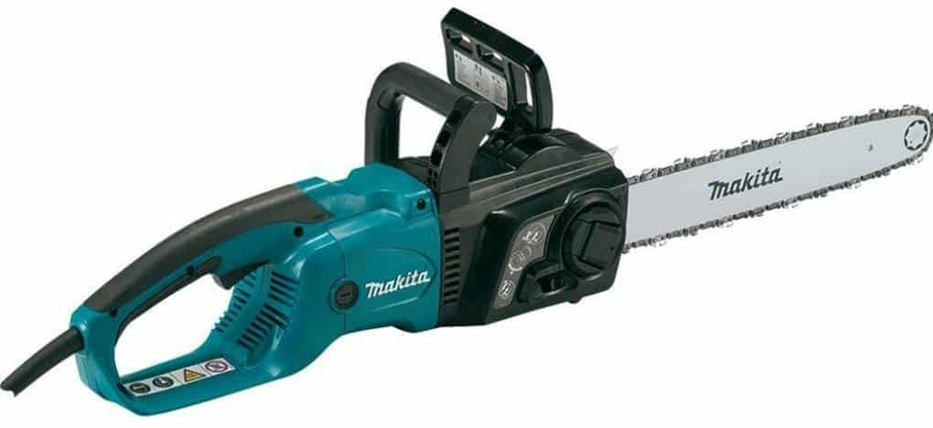 Best electric chainsaw in 2017 complete buyers guide and reviews makita uc4051a electric chain saw 16 inch keyboard keysfo Choice Image