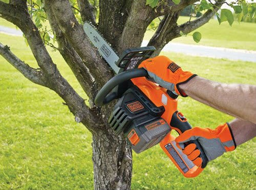 Black and Decker LCS1240 Lithium Ion Chainsaw